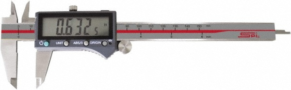 "SPI 6"" IP54 Electronic Caliper wth Wireless Output"